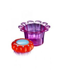 Perie Par Tangle Teezer Kids Flowerpot Popping Purple