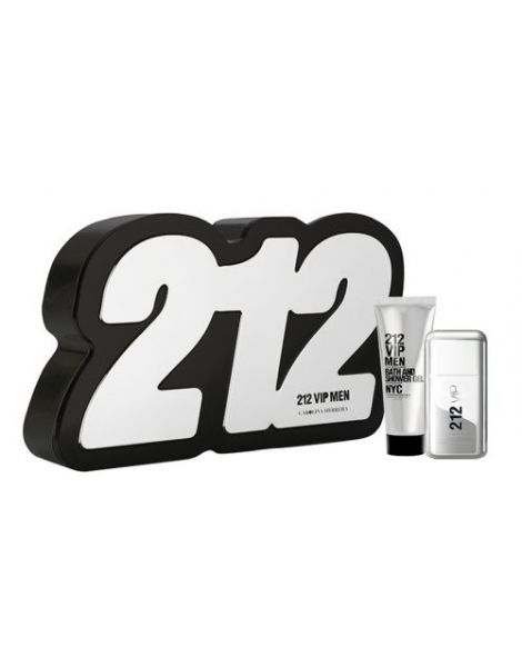 Carolina Herrera 212 Vip Men Set (Apa de toaleta 50ml+ Gel dus 75ml)