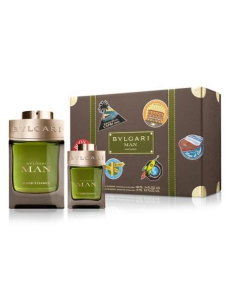Bvlgari Man Wood Essence Set (Apa de parfum 100ml + Apa de parfum 15ml)