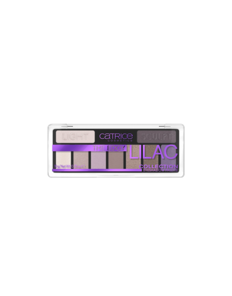 Catrice Paleta Fard Ochi Eyeshadow Palette The Edgy Liliac Collection 010 Purple Up Your Life 10g