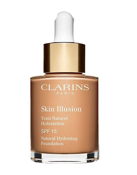 Clarins Fond Ten Skin Illusion 108.5 Cashew 30ml (2018)