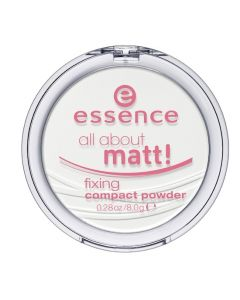 Essence Pudra Compacta All About Matt! Fixing Compact Powder 8g