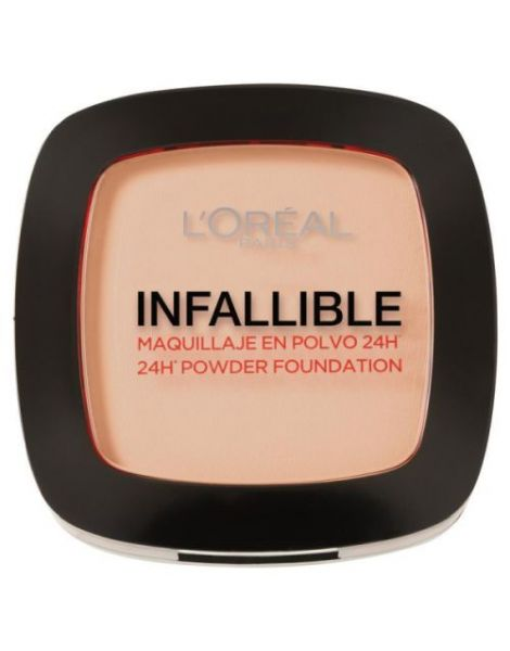 L'Oreal Pudra Compacta Infaillible 123 Warm Vanille 9g