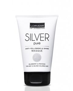 Lorvenn Silver Pure Anti-Yellowing & Shine Masca pentru Par Grizonat 100ml