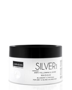 Lorvenn Silver Pure Anti-Yellowing & Shine Masca pentru Par Grizonat 500ml