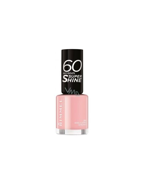 Rimmel Lac Unghii 60 Seconds Super Shine 262 Ring A Ring O'Roses 8ml