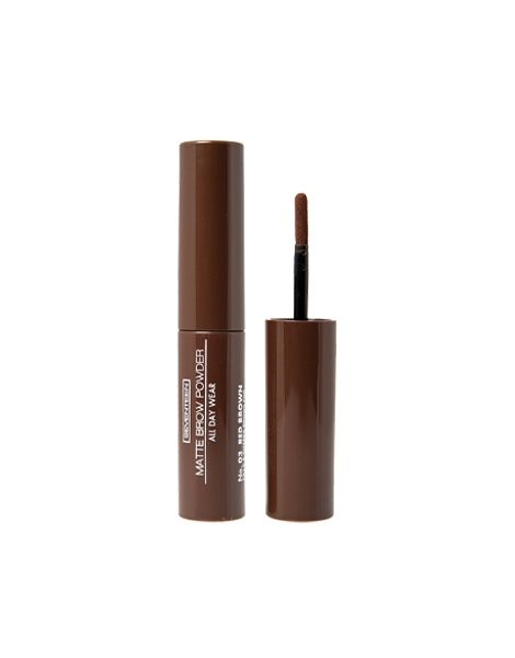Seventeen Pudra Sprancene Matte Brow Powder 02 Dark Brown